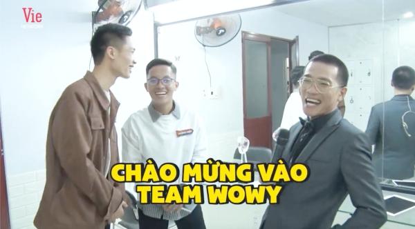 Nam rapper chào mừng Văn Khanh và Hoàng Hiệp gia nhập team Wowy