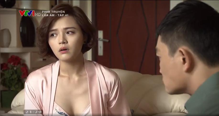 'Lửa ấm' tập 41: Thấy vợ thân mật bên trai lạ, NSƯT Trương Minh Quốc Thái quay sang hỏi tội Thu Quỳnh 6