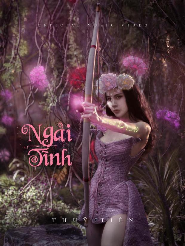Poster ca khúc mới nhất của nữ ca sĩ.