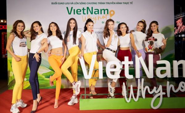 Võ Hoàng Yến, Nam Em và dàn hoa hậu, á hậu 'gây náo loạn' tại sự kiện 0
