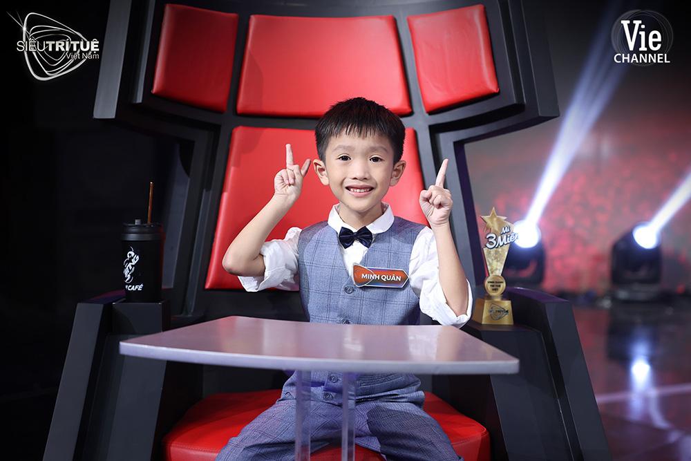 Thí sinh Nguyễn Minh Quân (7 tuổi)