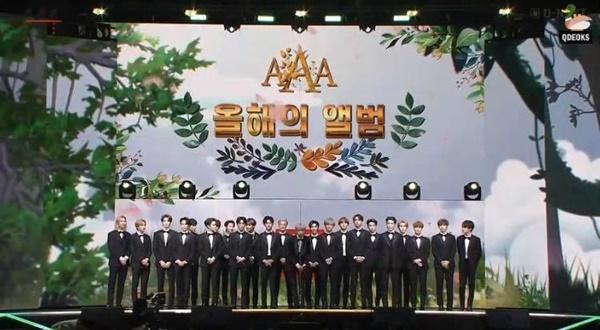 'Daesang album của năm' thuộc về nhóm nhạc 'đông dân'NCT.