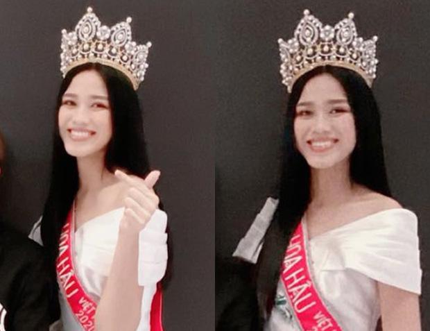 Gương mặt hốc hác của Hoa hậu Đỗ Thị Hà sau vài ngày đăng quang khiến nhiều người lo lắng 1