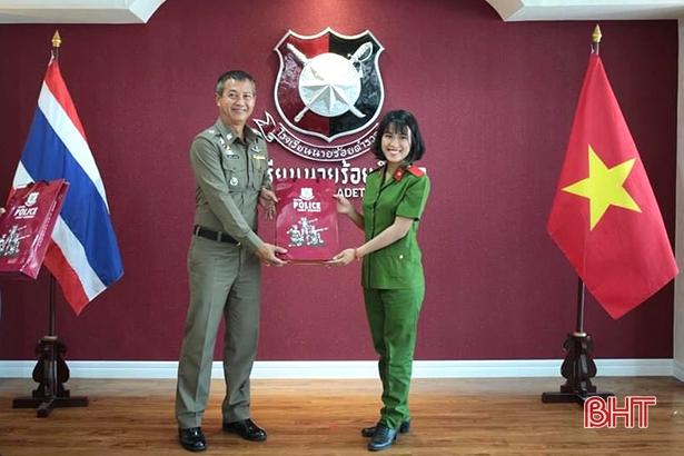 Nhờ thành tích học tập xuất sắc, Thuỷ Tiên đã được lựa chọn là đại diện cho sinh viên Học viện Cảnh sát nhân dân tham gia khóa tập huấn, trao đổi sinh viên quốc tế tại trường Học viện Cảnh sát Hoàng gia Thái Lan.