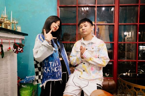 Dàn ca sĩ, rapper trẻ hội tụ, Karik bất ngờ xuất hiện cổ vũ và còn được học trò Ricky Star gọi là 'bé ngoan' 11