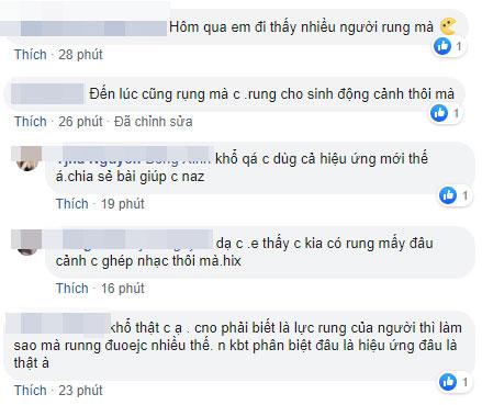 Một số bình luận bênh vực, động viên đến từ bạn bè, em út của T.N