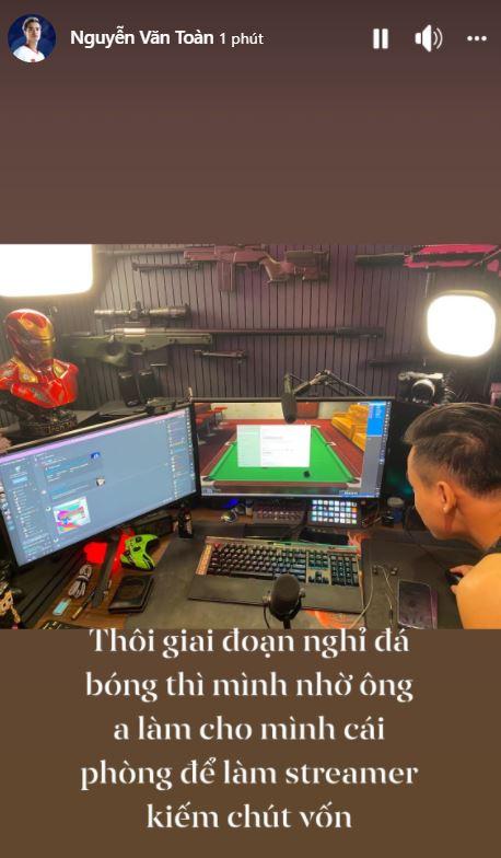 'Thân thiết' từ streamer đến game thủ, fan nghi vấn Văn Toàn đang 'lấn sân' làng game 1