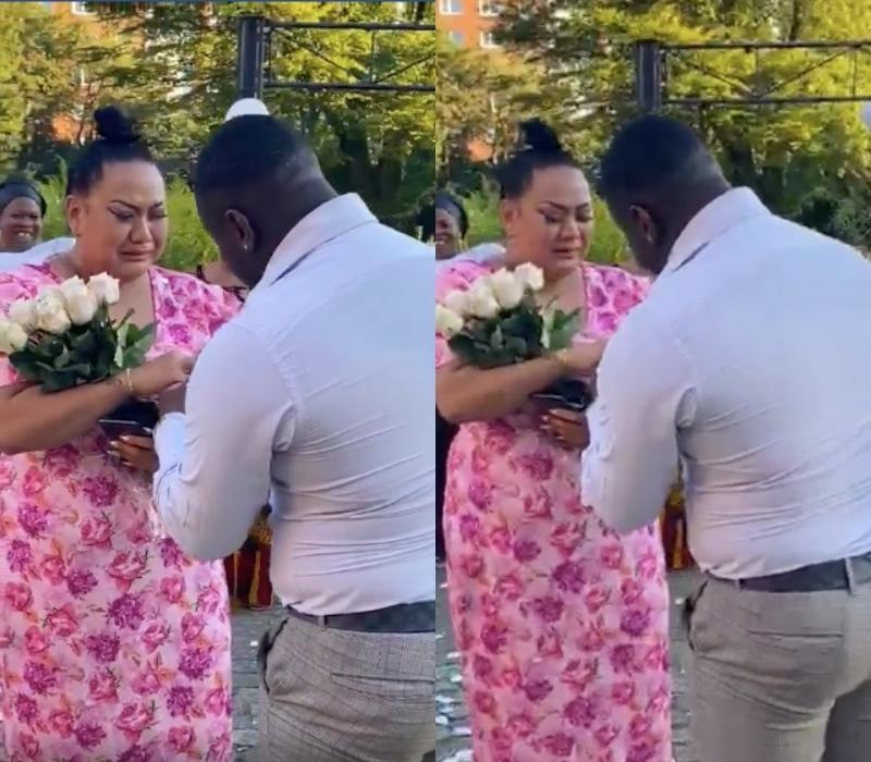 Brittanya Karma xúc động khi được bạn trai bất ngờ cầu hôn
