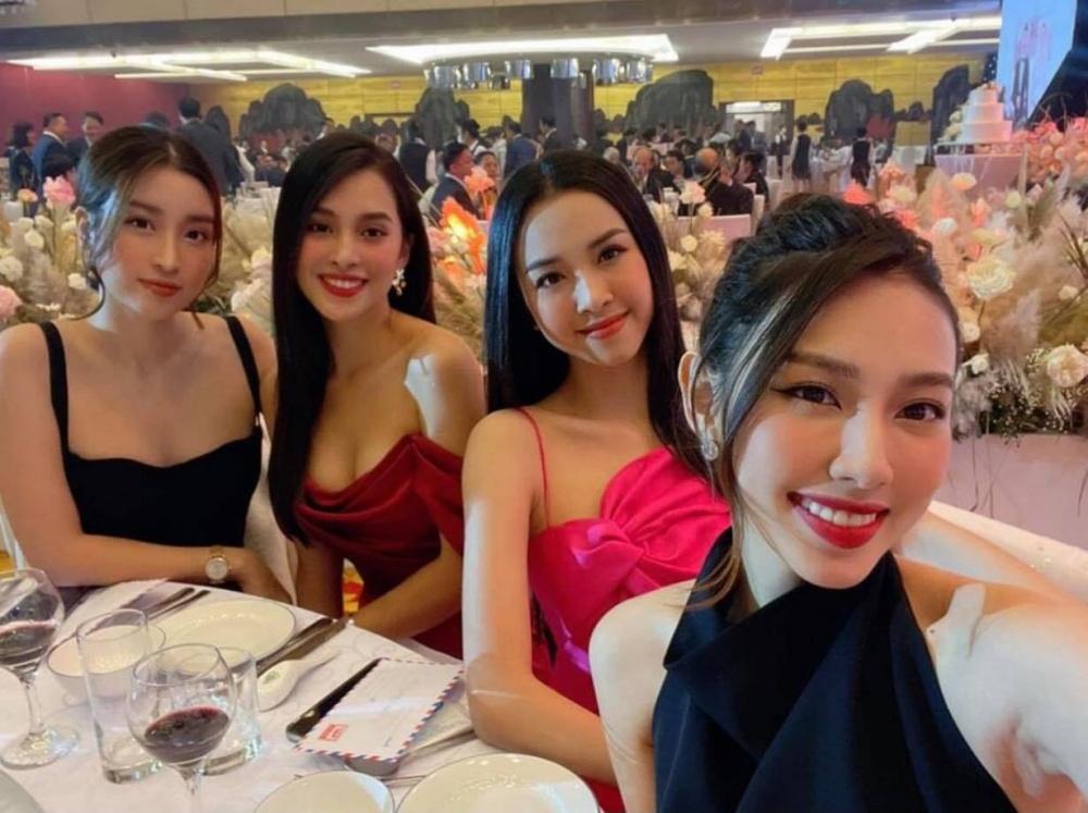 Dàn người đẹp xuất hiện tại đám cưới của Á hậu Tường San