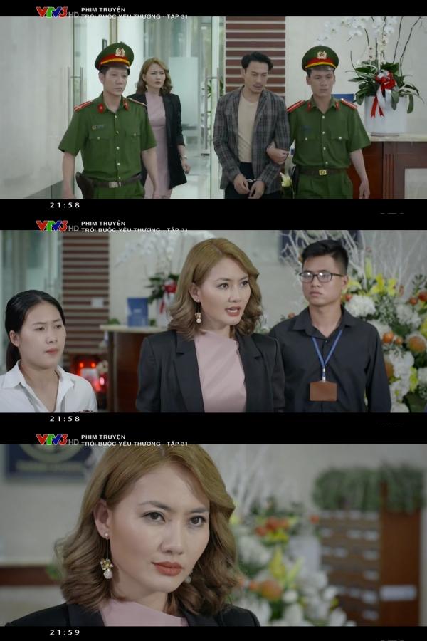 Ngoài mặt tỏ vẻ lo lắng cho người tình nhưng Khánh vừa đi, Hà đã lộ nguyên bản chất
