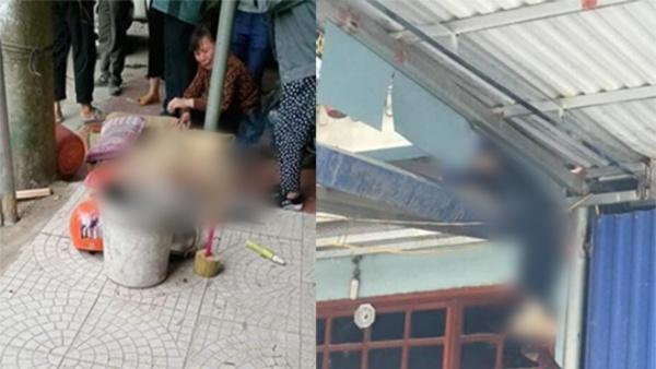 Tài xế tông xe khiến 2 người chết, 1 người bị tông văng lên mái nhà.