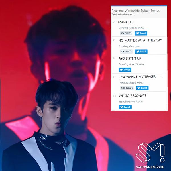Sương sương vài câu nói trong teaser, Mark (NCT) leo thẳng top trending thế giới, fan than trời logo SM còn dài hơn cả lời rap 2