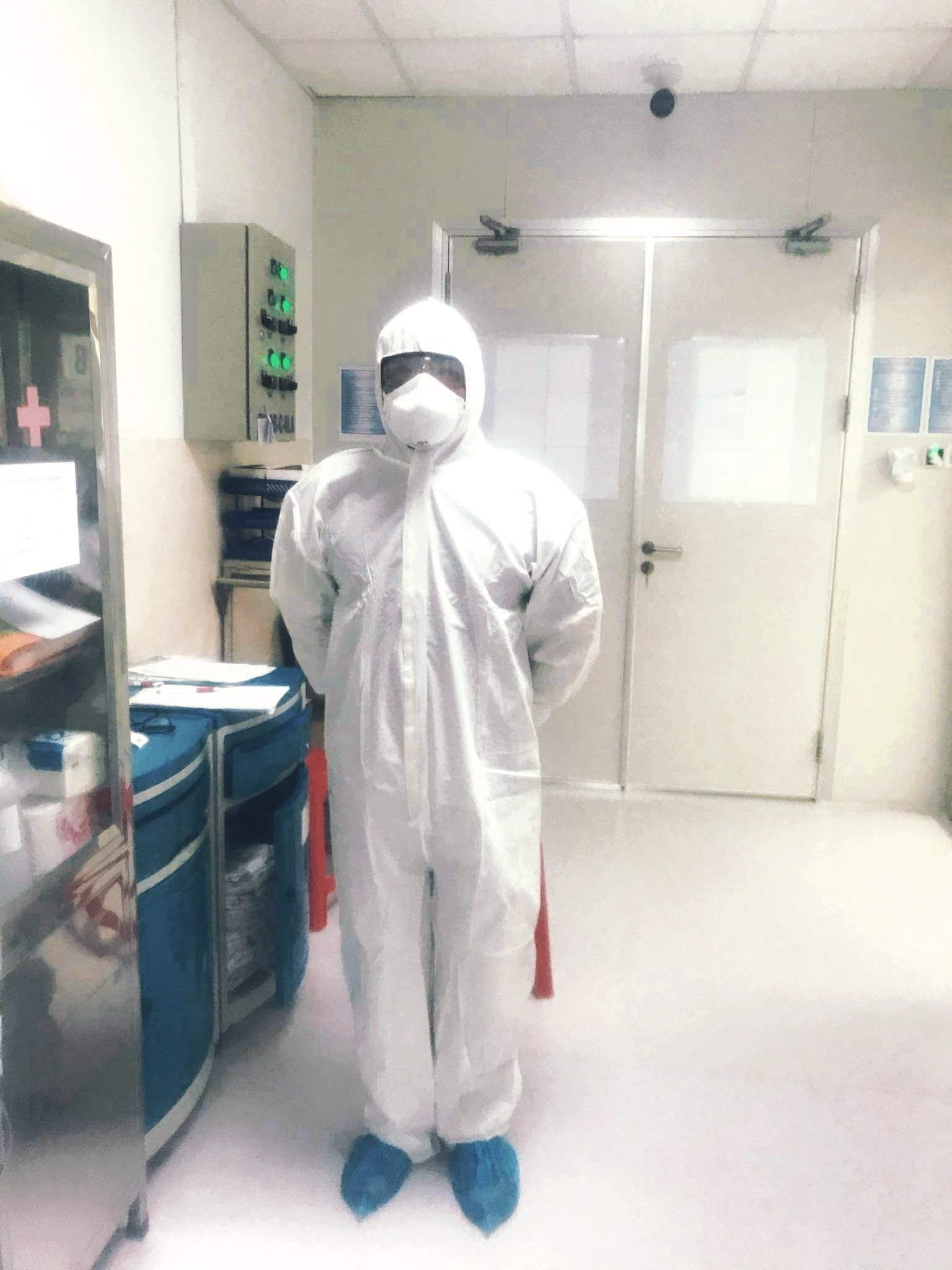 Công tác điều trị và cách ly khẩn trương tại Bệnh viện Nhi đồng Thành phố. ẢnhBệnh viện Nhi đồng Thành phố.