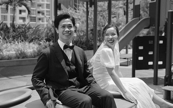 Đây là tiệc cưới thứ 3 của Công Phượng - Viên Minh, khách mời chủ yếu là người thân quen, họ hàng của nhà trai.