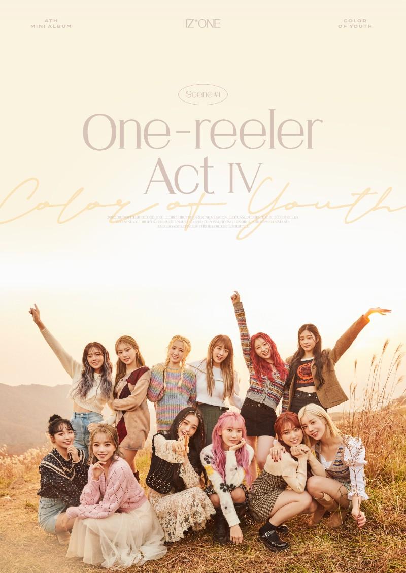 'One-reeler' là mini album thứ 4 trong sự nghiệp của IZ*ONE.