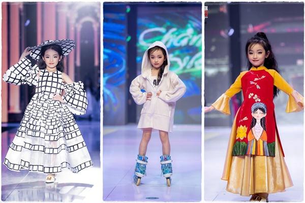 Đặc biệt, Bảo Anh là mẫu nhí từng được vinh dự tham dự show'I Do Runway tại Thái Lan' và được vinh danh Best Award ở hạng mục Người mẫu trình diễn.