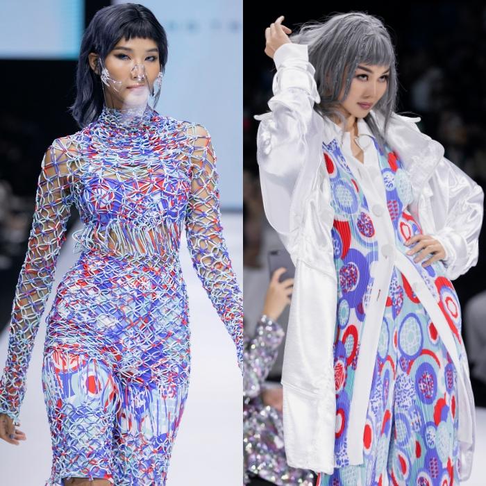 Thanh Hằng, Hoàng Yến, Minh Tú và dàn mẫu cá tính trong trang phục streetwear manghơi thở đương đại 3