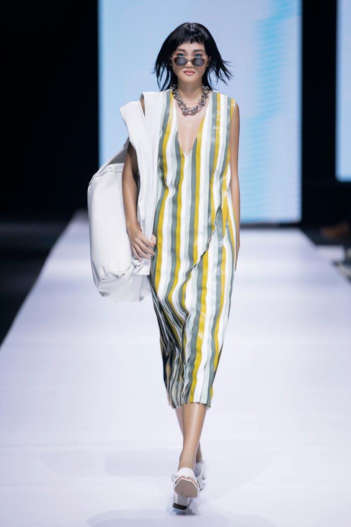 Thanh Hằng, Hoàng Yến, Minh Tú và dàn mẫu cá tính trong trang phục streetwear manghơi thở đương đại 4