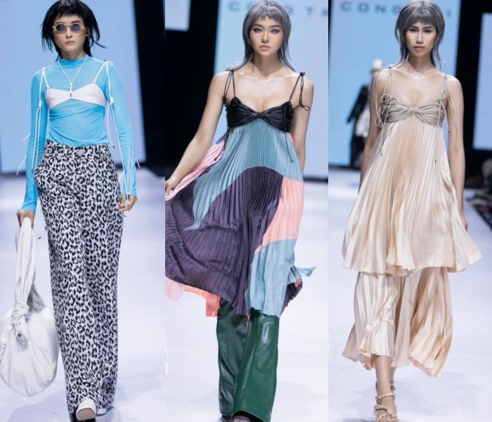 Thanh Hằng, Hoàng Yến, Minh Tú và dàn mẫu cá tính trong trang phục streetwear manghơi thở đương đại 7