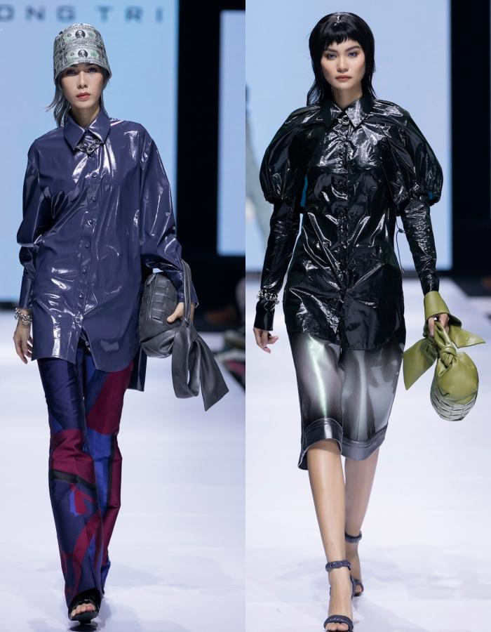 Thanh Hằng, Hoàng Yến, Minh Tú và dàn mẫu cá tính trong trang phục streetwear manghơi thở đương đại 6