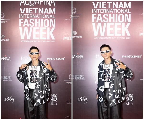 Lăng LD điển trai trong bộ trang phục của NTK Nguyễn Tiến Truyển.