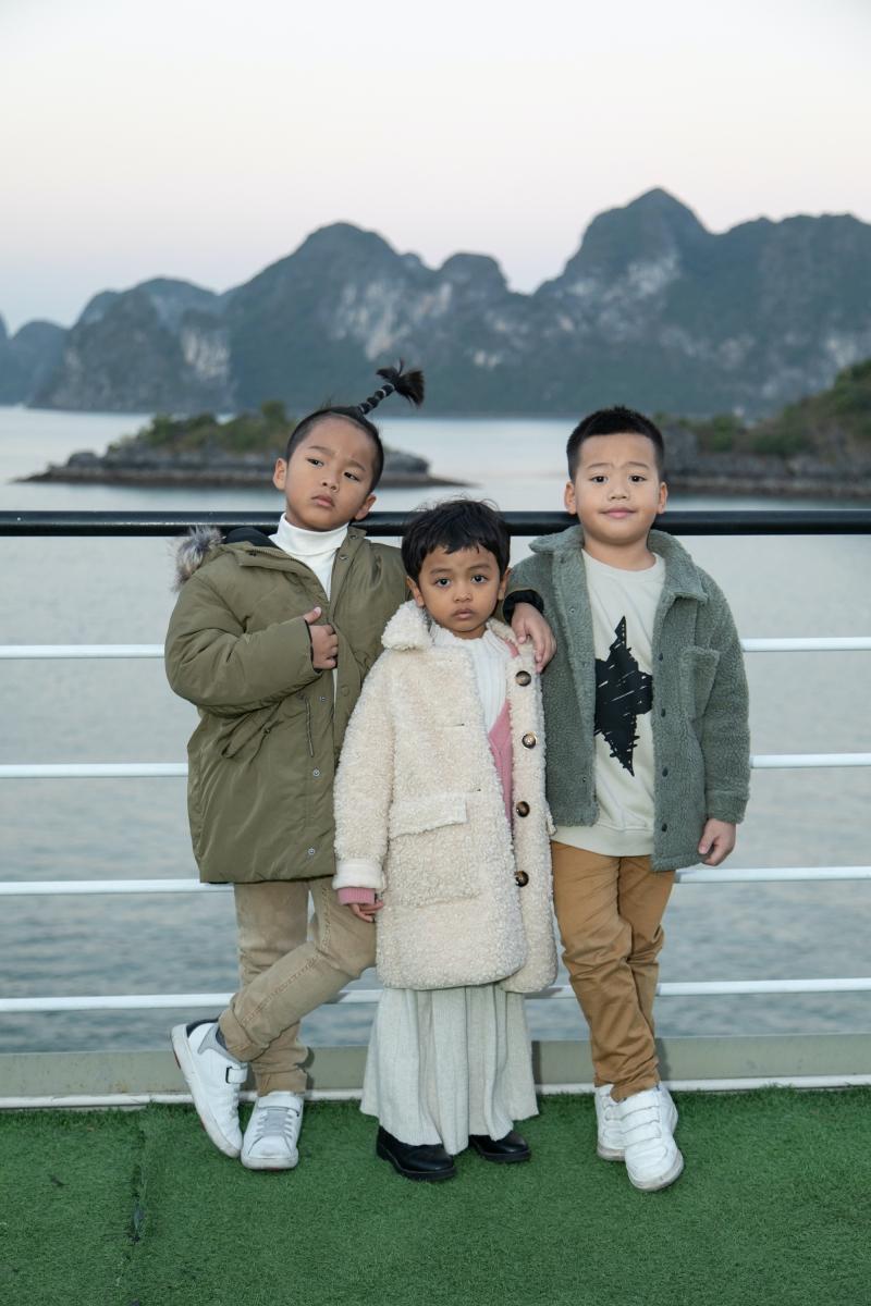 NTK Đỗ Mạnh Cường mừng sinh nhật con gái trên du thuyền ở vịnh Hạ Long 6