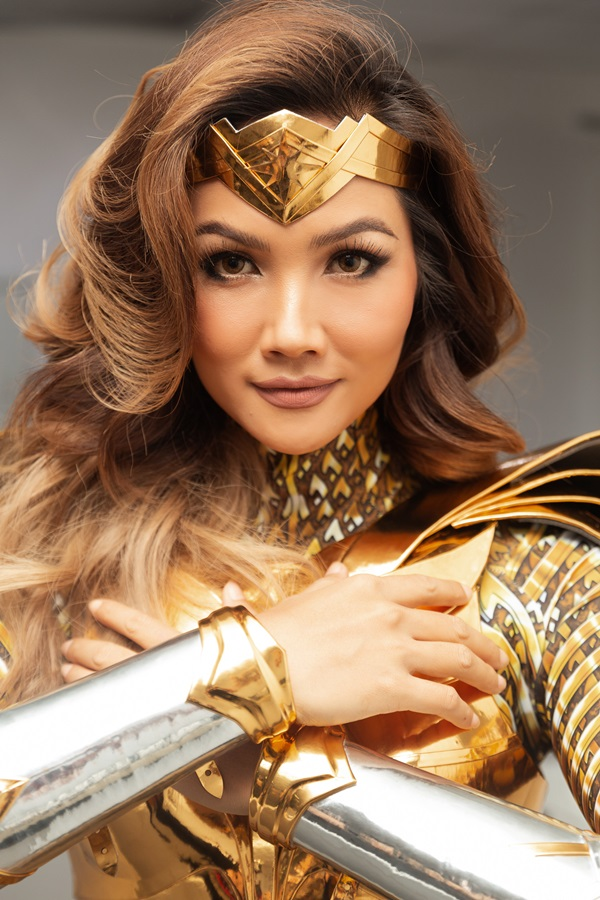 H'Hen Niê hoá thân thành Wonder Woman, tái xuất showbiz sau thời gian tập trungđóng phim điện ảnh 0
