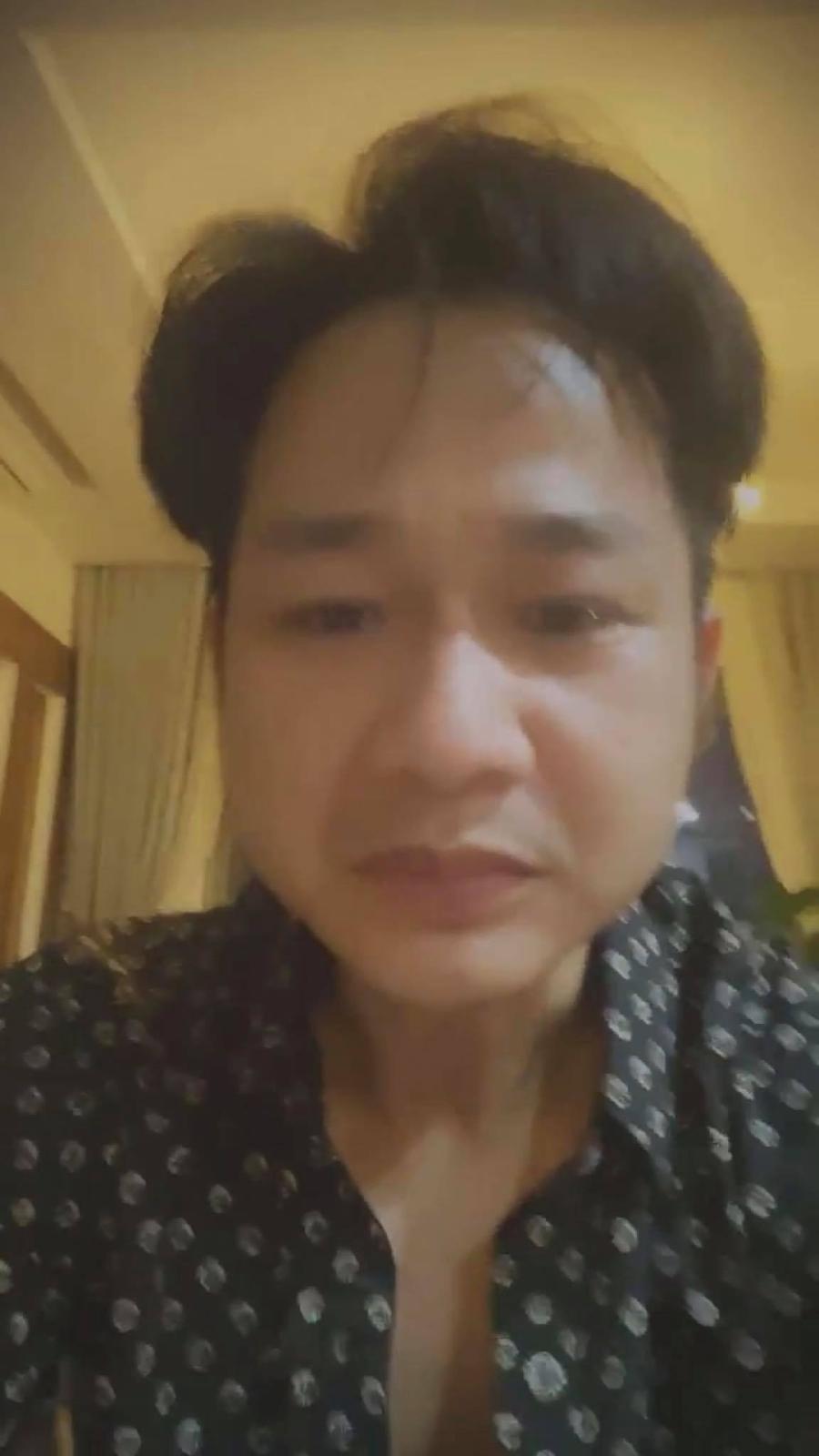 Quách Tuấn Du khóc ngấc khi hay tin Vân Quang Long qua đời