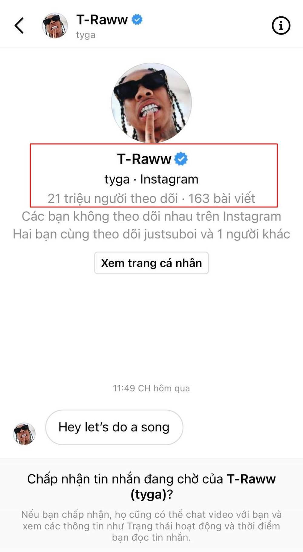 'Hai phút hơn' gây bão toàn cầu, Pháo được đích thân rapper nổi tiếng Tyga nhắn tin ngỏ lời hợp tác 1