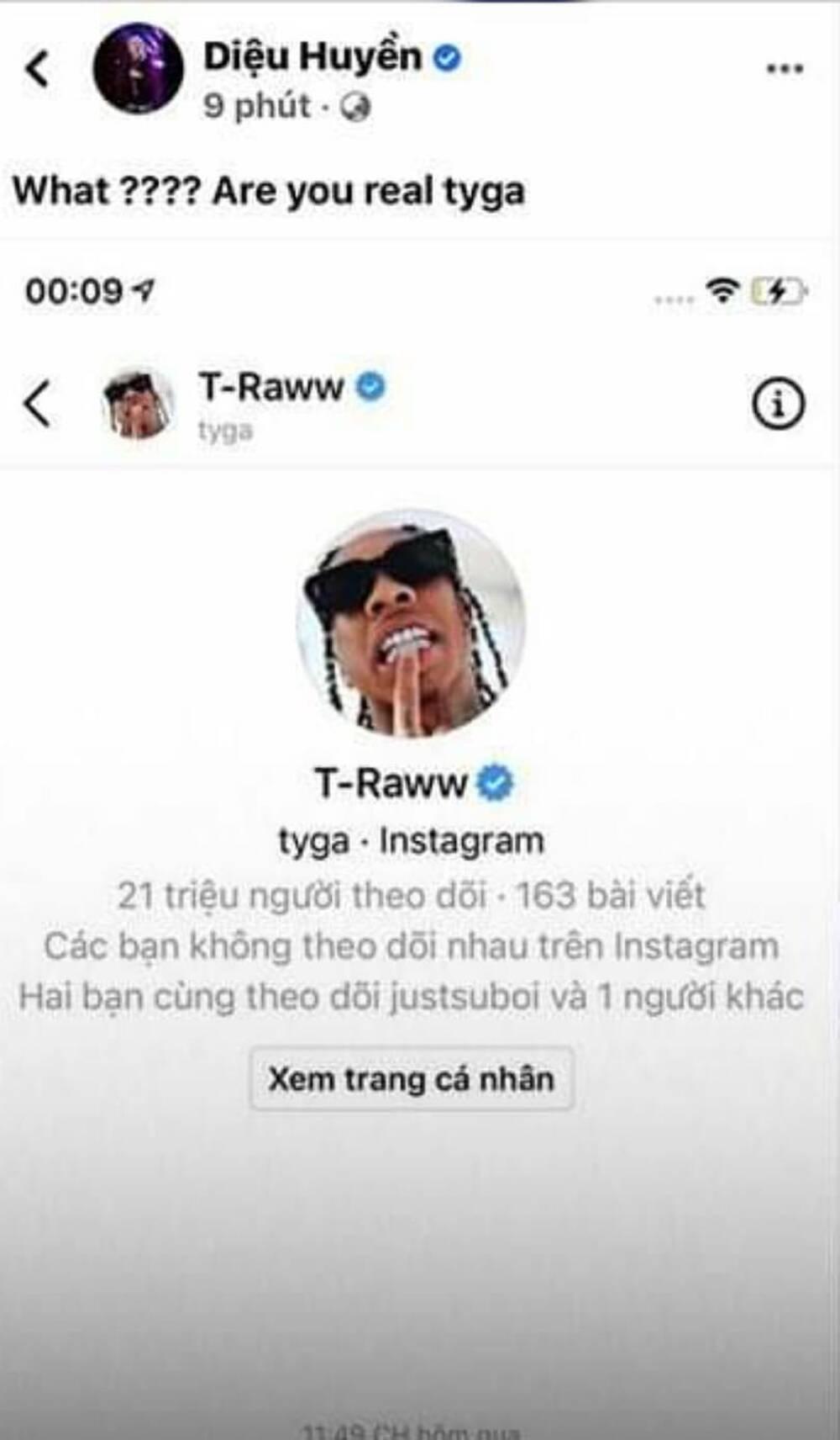 'Hai phút hơn' gây bão toàn cầu, Pháo được đích thân rapper nổi tiếng Tyga nhắn tin ngỏ lời hợp tác 0