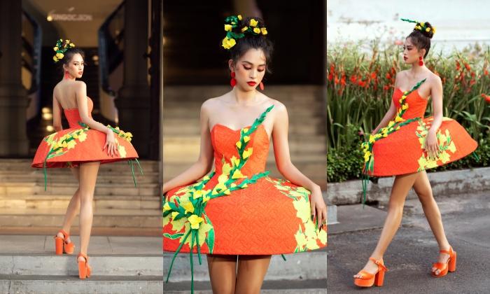 Tiểu Vy hoá công chúa mùa xuân, Võ Hoàng Yến làm nữ thần mặt trời diễn show Vũ Ngọc và Son 1