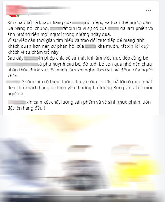 Bài xin lỗi của hệ thống B. tiếp tục chọc giận dân mạng Đà Nẵng