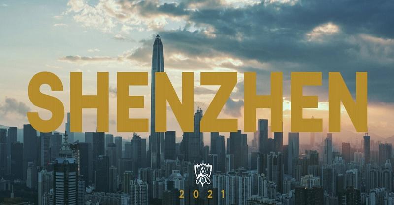 Thâm Quyến, Trung Quốc sẽ là thành phố đăng cai tổ chức CKTG LMHT 2021.