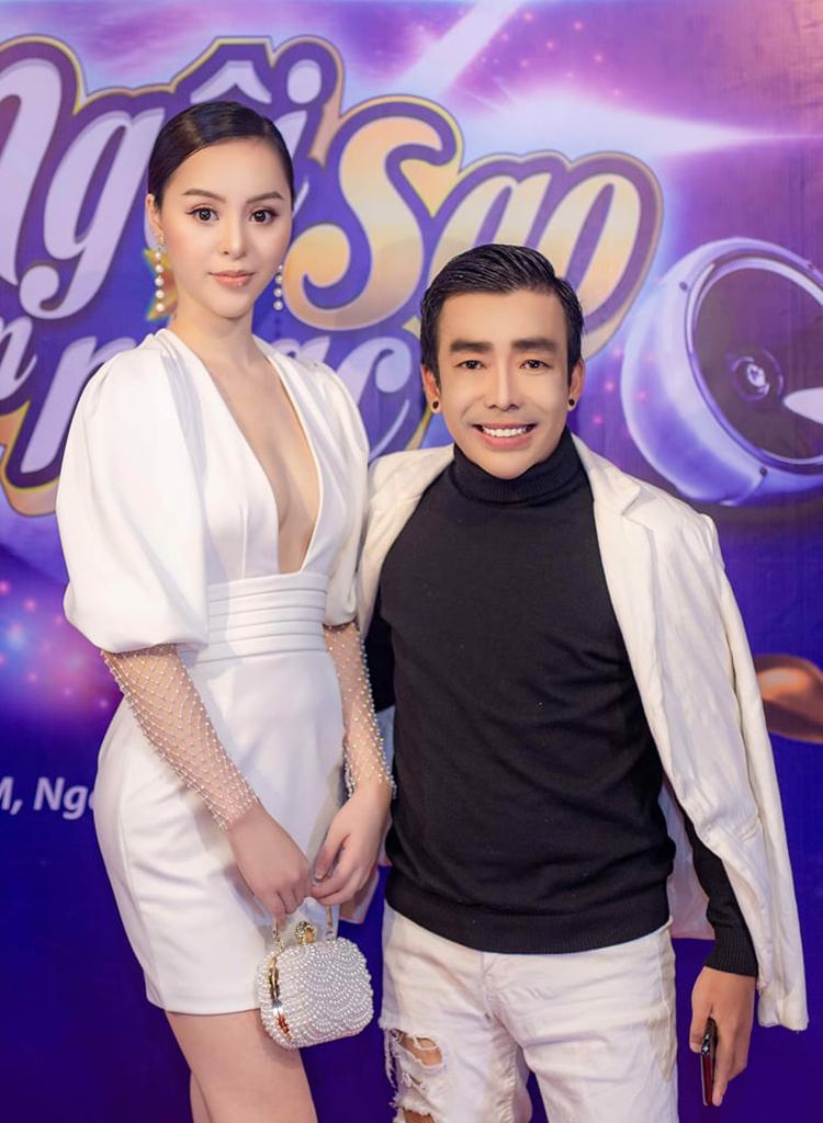 Anh Tuấn đã vài lần đưa Minh Nguyệt đi dự sự kiện chung