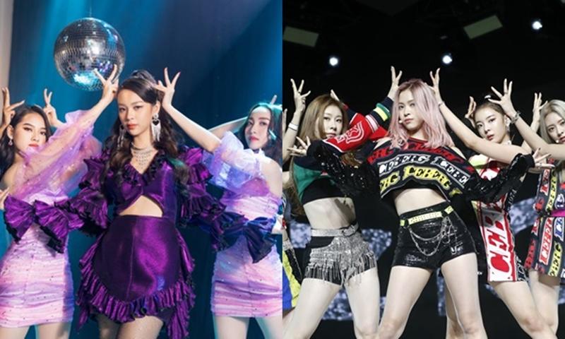 Ngoài ra, ViruSs cũng cho rằng không khó để nhận ra chiêu trò củaPhí Phương Anh và ekip khi cố tình 'bắt chước' vũ đạo của các nhóm nhạc Kpop, điển hình là ITZY.