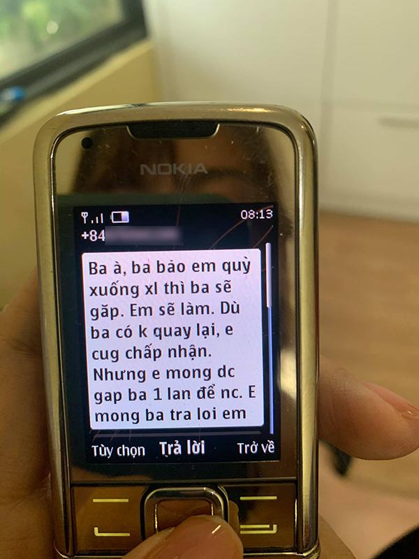 Tin nhắn níu kéo của 'tiểu tam' với chồng chị C.