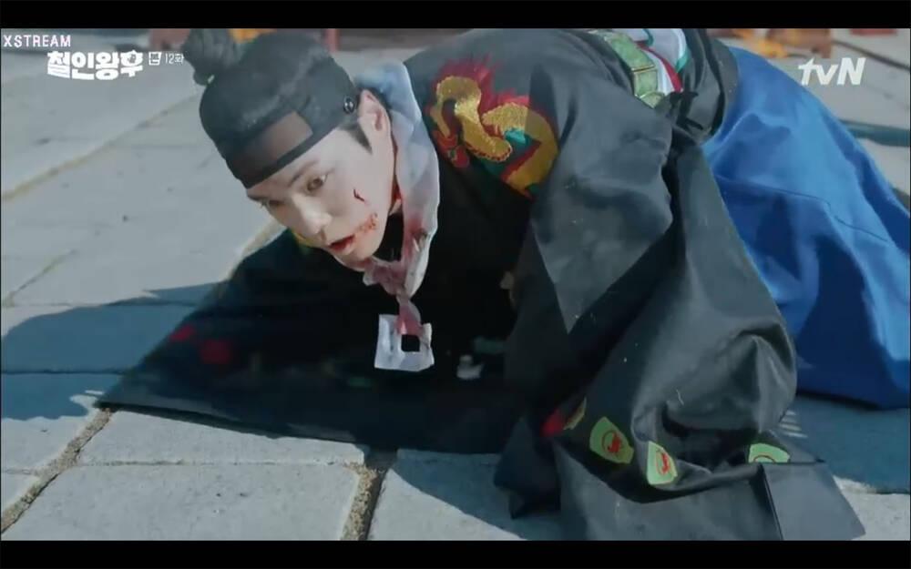 'Mr. Queen' tập 12: Shin Hye Sun đau khổ vì Kim Hyun Jung bị nổ chết do thuốc súng 34