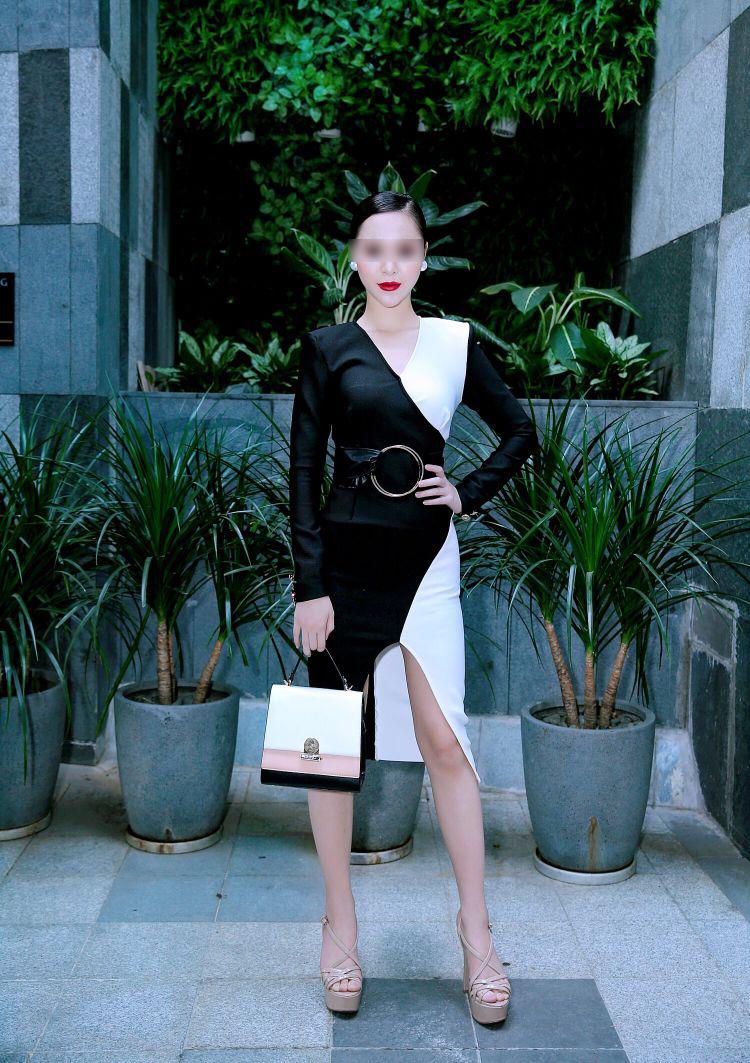 Cô gái này hiện giờ đang làm người mẫu và thường xuyên tham gia các sự kiện trong showbiz.