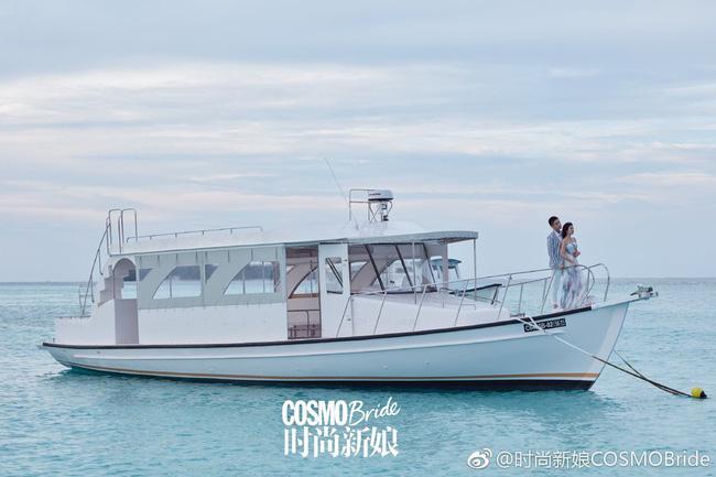 Khung cảnh lãng mạn của Maldives trong bộ ảnh cưới