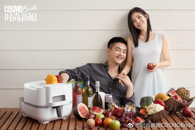 Một vài hình ảnh tình tứ khác của cặp Trần Hiểu - Trần Nghiên Hy khiến dân tình ghen tị