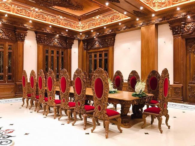 Rò rỉ hình ảnh xa hoa bên trong lâu đài 7 tầng của gia đình cô dâu xinh đẹp nổi tiếng Nam Định 8