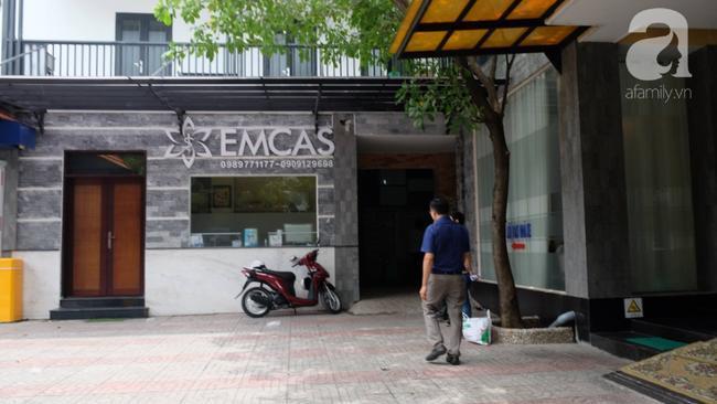 Bệnh viện thẩm mỹ EMCAS, nơi chị A. được thực hiện hút mỡ bụng.