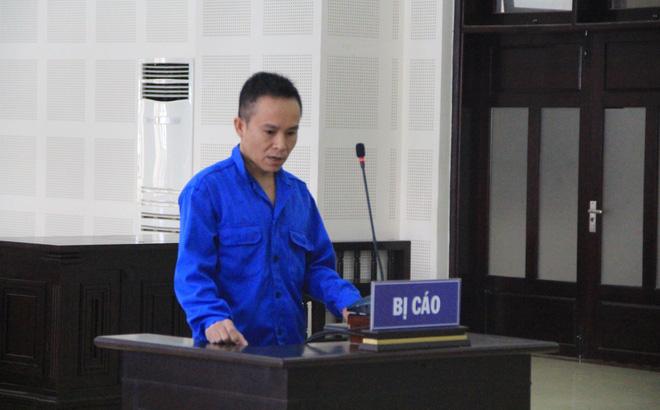 Bị cáo Hiệu tại phiên tòa xét xử.