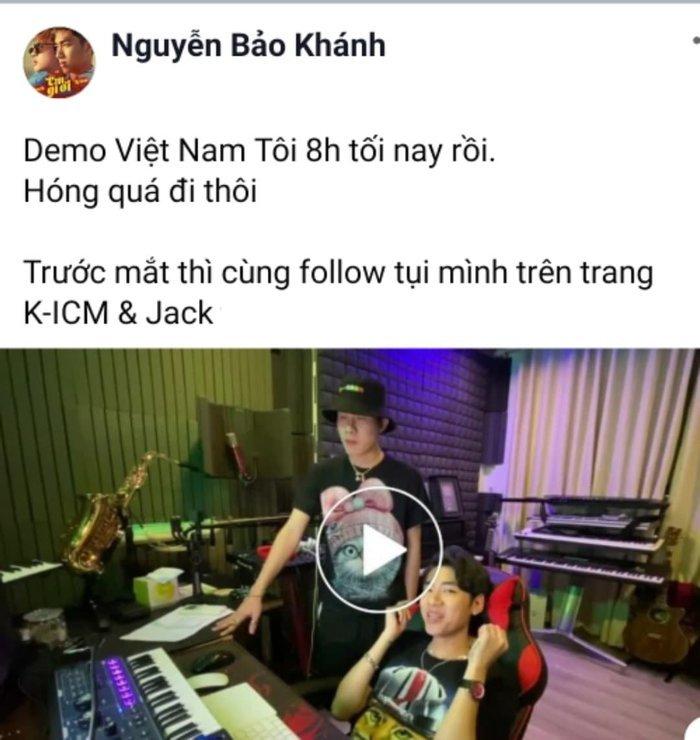 Demo Việt Nam Tôi được tung ra trước đó.