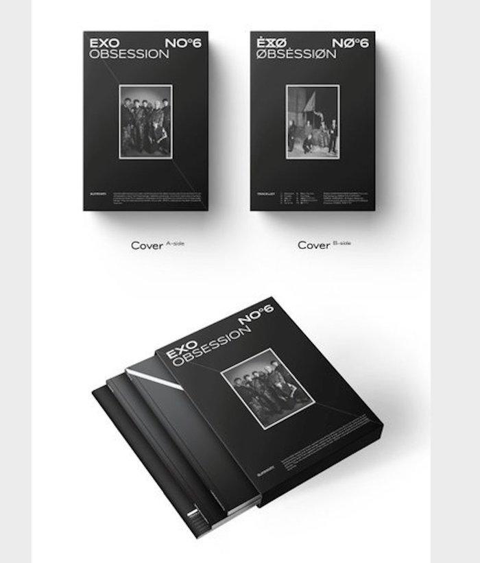 Album Obsession của EXO.