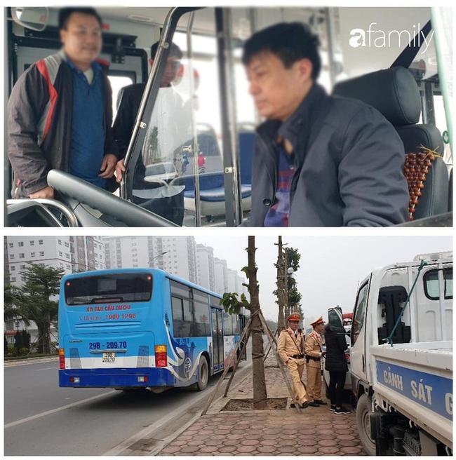 Tài xế xe buýt bị kiểm tra nồng độ cồn