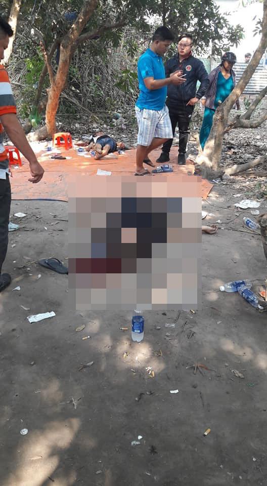 Hiện trường 2 vụ nổ súng khiến 5 người tử vong do nghi phạm Tuấn 'Khỉ' gây ra.