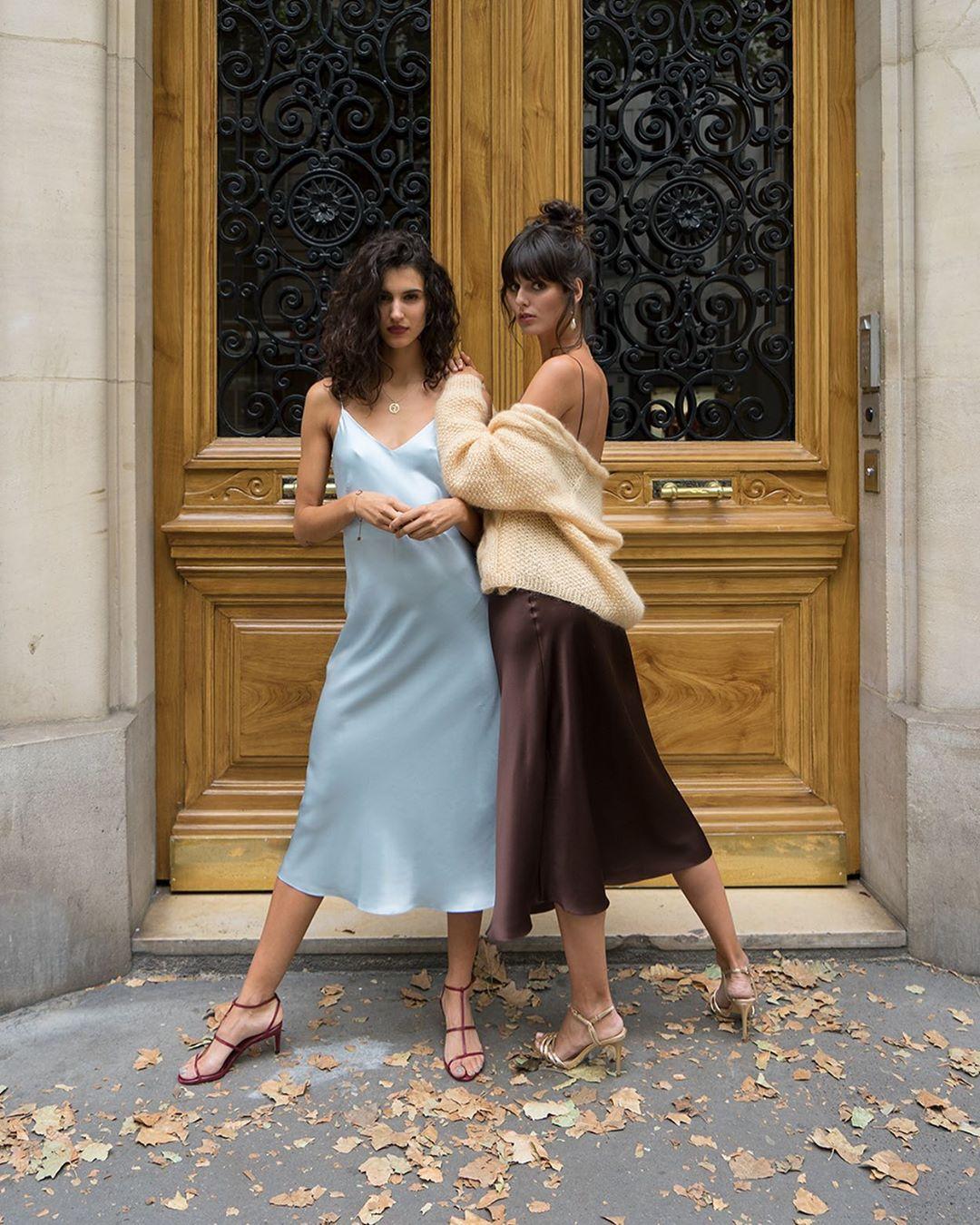 Phụ nữ Pháp cứ diện váy lụa đẹp mê thế này, chị em ngắm rồi sẽ muốn tậu ngay cho tủ Xuân - Hè 'cả lố' với muôn màu sắc 5