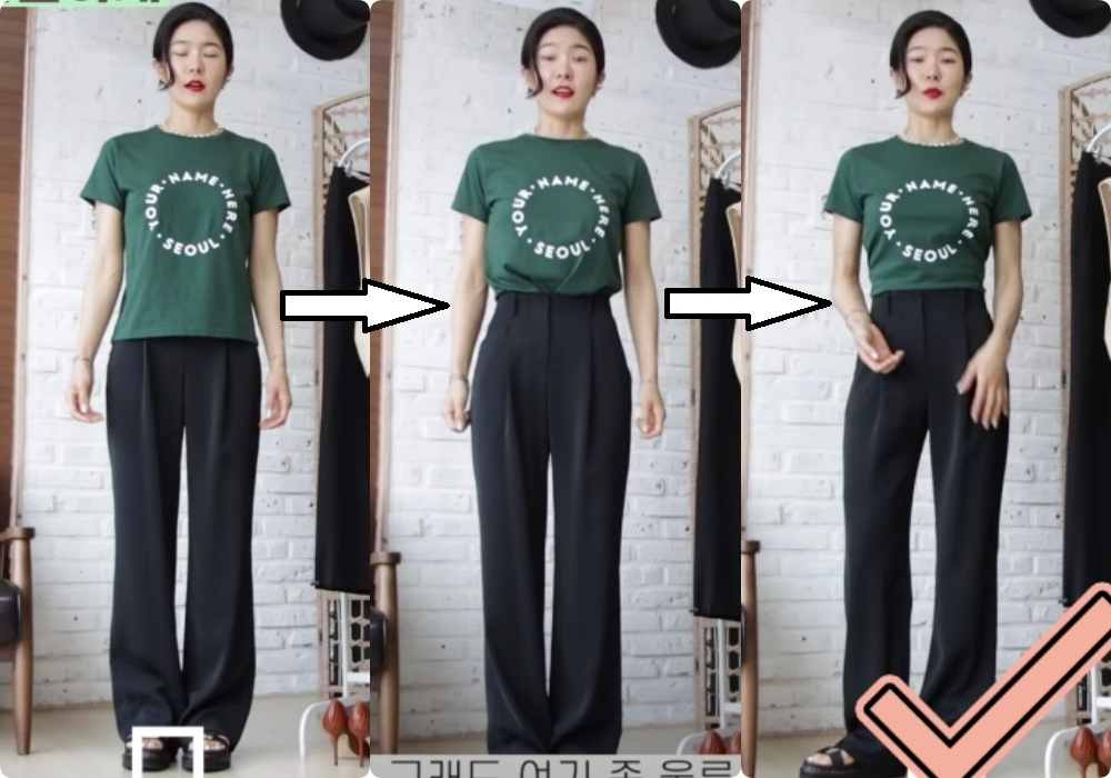 Chiêu tạo eo thon, hack chân dài vi diệu 'nhất quả đất' khi diện áo phông + quần ống rộng, đến Lisa (Black Pink) cũng đang áp dụng 7