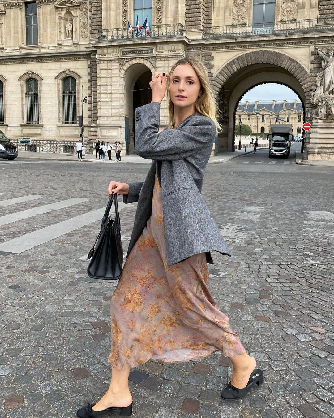 Trời se lạnh mà 'quẩy' váy dáng dài là style sẽ yêu kiều như gái Pháp, điểm sang chảnh cũng tăng ngùn ngụt 5
